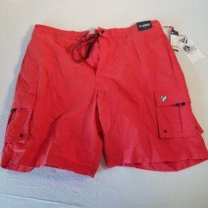 Daniel Cremieux Mens Swim Trunks Shorts XL RED NWT